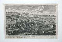 Kupferstich Kirchensittenbach Land Pfleg Amt von Christoph Melchior Roth um 1760