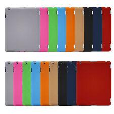 Ultra-Slim Hard Back Case For iPad 2 3 4 Air/5 Air2/6 Mini Hard PU Plastic Case