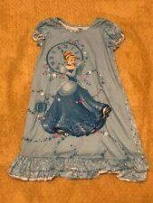 Disney Store Cinderella blue Nightgown girls size  9 10