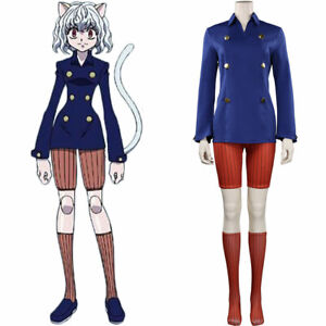 Hunter x Hunter Neferpitou Cosplay Costume Outfits Halloween Carnival Suit