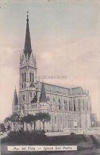 ARGENTINA - Mar del Plata - Iglesia San Pedro