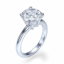 Solitaire Diamond Fine Rings