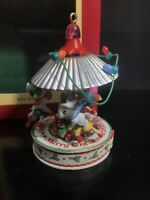 Carlton Cards Heirloom Collection Wee Whatnots Christmas Ornament Mice Carousel