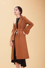 AHEIT KOREA WOOL COAT Camel Size FREE ONE SIZE UK 10/12 BNWT RRP £328