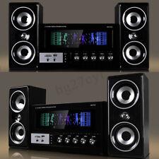 bluetooth Surround Sound Speaker System Laptop PC Home Audio TV Theater USB SD