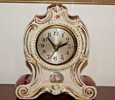 Antique Gilbert Mantel Clock Running For Parts or Repair