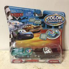 Disney Pixar Cars ORIGINAL 2009 Color Changers 2Pack DINOCO McQUEEN & TEX DINOCO