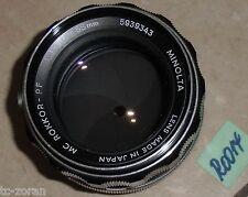 MINOLTA MC-ROKKOR-PF OBJEKTIV; 1:1.4; 58mm, für analoge Kameras (R0014)