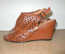 Riversoft Wedge Heel Shoes Size 37 Heels Ladies Open Toe Shoe