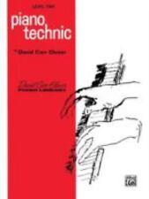 David Carr Glover Piano Library: Piano Technic : Level 2  1985  NOS