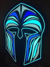Spartan LED flashing mask (festival party rave mask) Greek Roman