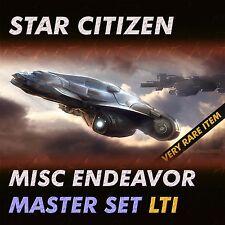 Star Citizen - Endeavor Master Set - LTI Lifetime Insurance - NO CCU