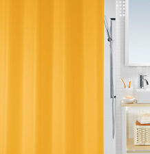 Bio Orange Eco Duschvorhang 180 x 200 cm. 100% PEVA Swiss Design PVC Frei