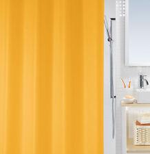 Bio Naranja ECO Cortina de ducha 180 x 200 cm. 100 % PEVA Diseño Suizo PVC Libre
