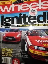 Wheels Mag 2009 Falcon XR8 VE SS Commodore Ute Nissan R32 Group A GT-R R35 GT-R