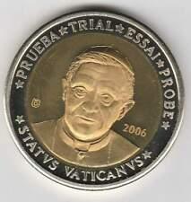 Vaticaan 2006 (Gr) probe-pattern-essai - 10 euro - Paus Benedictus XVI (bimetal)
