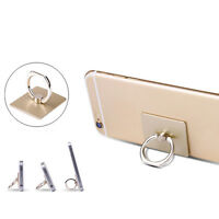 2pcs Universal 360° Hook Finger Ring Mount Stand Holder For Iphone Smart Phone