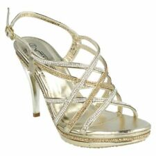 Stiletto Synthetic Sandals Heels for Women