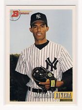 Mariano Rivera 1993 Bowman Baseball Card #327
