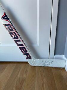Henrik Lundqvist Signed NY Rangers Game Model Bauer Hockey Goalie Stick