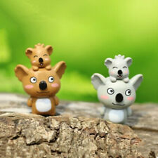 Mini 6pcs Koala Miniatures Garden Lawn Ornament Decoration Figurines DIY Bonsai