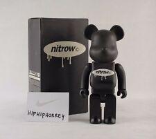 MIB NITROW 400% Be@rbrick MEDICOM Bearbrick BWWT BLACK