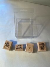 NEW Stampin' Up! Holiday Pack! Christmas STAMPS Gifts 1994 RUBBER STAMP