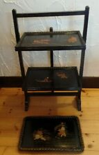 Vintage Chinese Style Firescreen / Table   + Tray