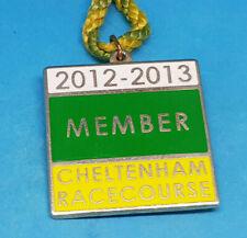 Cheltenham Horse Racing Members Badge - 2012 / 2013