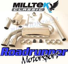 Milltek MCXAU107 Audi Coupe UR Quattro 20v Turbo Exhaust System Resonate Quieter
