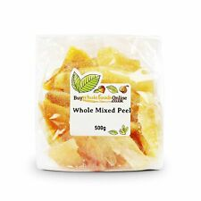 Candied Glace Peel Whole Mixed Fruit 500g   Buy Whole Foods Online   Free UK Mai