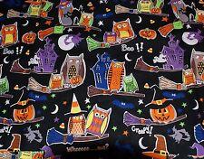 NEW ~ Print Scrub Top ~ 4X ~ Halloween
