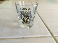 Sigma Nu Shot Glass