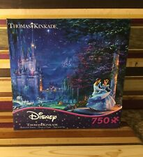 New Disney Thomas Kinkade Cinderella Dancing In The Starlight Puzzle