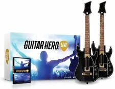 Guitar Hero Live - Video Game And 2 Guitar Bundle FreeStyleGames Wii-U New