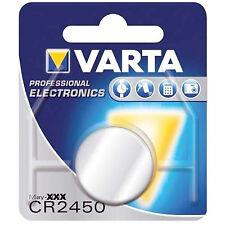 2  VARTA  BATTERIEN CR2450 LITHIUM CR 2450 BATTERIE