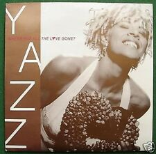 """Yazz Where Has All the Love Gone 7"""" Single Picture Sleeve"""