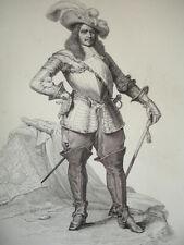 SIÈCLE DE LOUIS XIV / GRAVURE 1840 / TURENNE