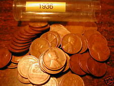 1936-P LINCOLN WHEAT CENT ROLL