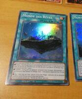 YUGIOH SUPER RARE HOLO CARD CARTE LVAL-FR063 SR MONT SYLVANIA VF FR NM