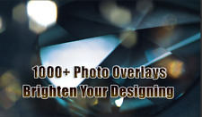 1000+ Photo Overlays & Action Bundle | Huge Library star