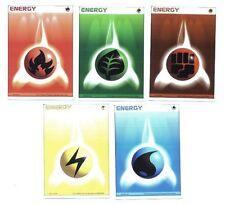 Lot 5 cartes POKEMON ENERGIES JAPANESE Lot N° LCPE5 01
