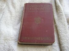 1932 Handbook for Scoutmasters A Manual for Leadership Boy Scouts of America