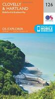 OS Explorer Map (126) Clovelly and Hartland by Ordnance Survey, NEW Book, FREE &