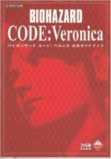 JAPAN Resident Evil Biohazard Code Veronica Guide Book Capcom