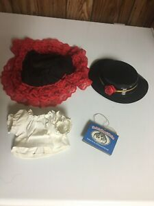 "Norfin Trollwear Collection shirt skirt hat for 9"" Troll doll 1992 EFS Marketing"
