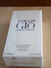 GIORGIO ARMANI ACQUA DI GIO BIG SIZE EDT NATURAL SPRAY 200 ml./6.7fl.oz. BNIB
