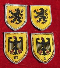 Post WWII West German Bundeswehr Army Panzer uniform patch-26th airborne brigade