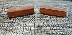 *UNBOXED* Micro Trains N Scale Undecorated 50' Box Cars (2 Carriages)
