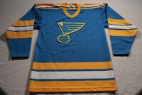 St. Louis Blues True Vintage CCM Jersey 1970s 70s 1980s 80s NHL Hockey S